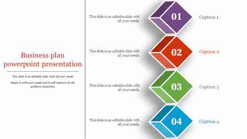 Cube business plan powerpoint presentation