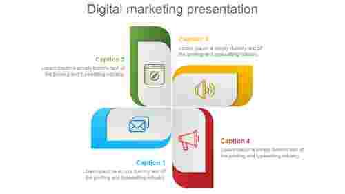 Infographic Digital Marketing Presentation Template