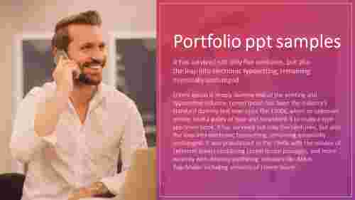 digital portfolio powerpoint