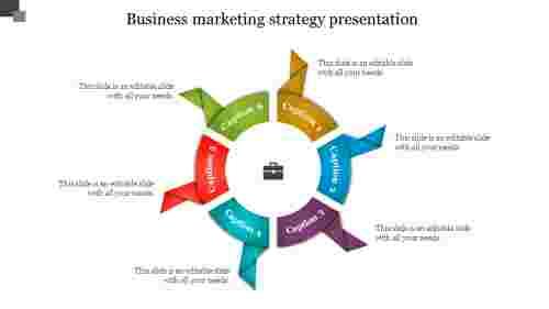 Amazing Business Marketing Strategy Template