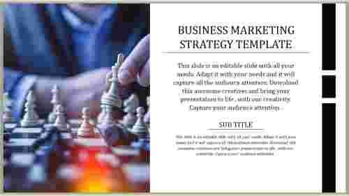 Portfolio Business Marketing Strategy Template