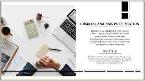business analysis presentation templat
