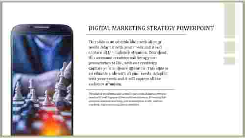 Digital Marketing Strategy Powerpoint template