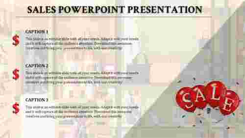 Sales Presentation Powerpoint graphic