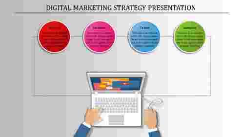DigitalMarketingStrategyPresentationTemplateSlide