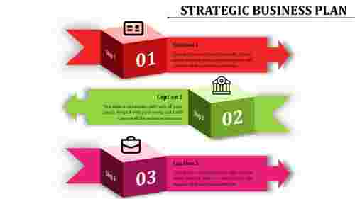 Infographic strategic business plan