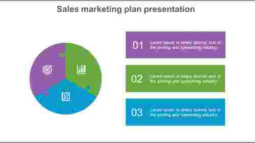 Editable sales Marketing Plan Template With Puzzle Model