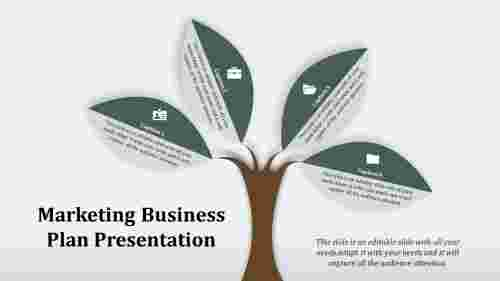 Tree Model Marketing Business Plan Template