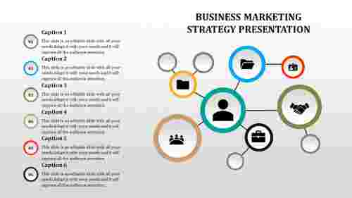 business marketing strategy template - Swim lanes