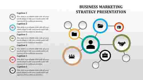 business marketing strategy template - Swim lanes