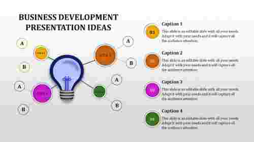 business development presentation idea
