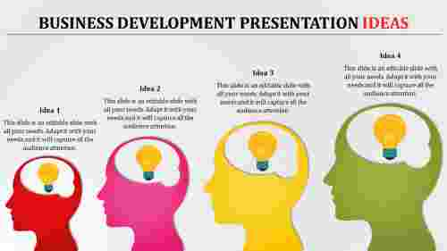 Growth of Business Development Presentation Idea