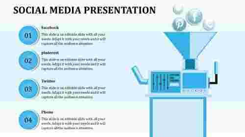Technology Based social media presentation template