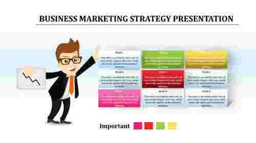 Pre-planned Business Marketing Strategy Template
