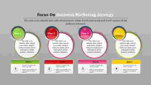 business marketing strategy template with hints