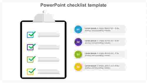 Modern rules of PowerPoint checklist template