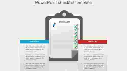 InfographicsdesignPowerPointchecklisttemplate