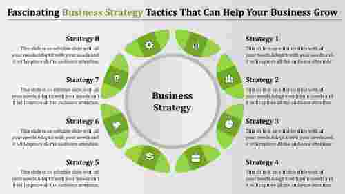 Connected business strategy template