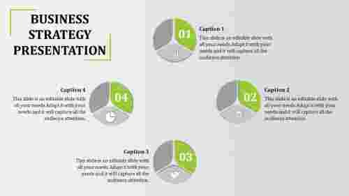 BusinessStrategyPPTTemplate-Circular-PieModel