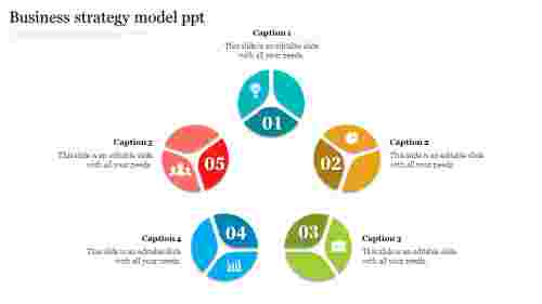 The%20Best%20Business%20Strategy%20Model%20PPT%20Template