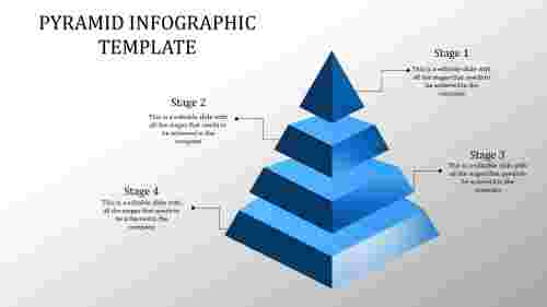 Stage pyramid powerpoint template