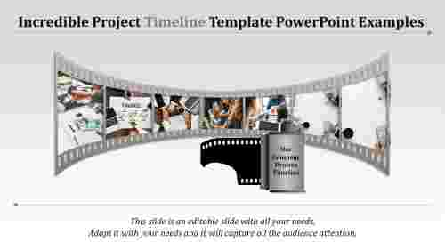 measurable project timeline template powerpoint