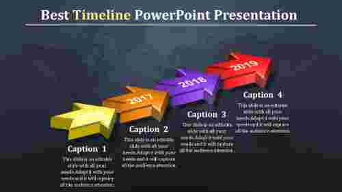 collaborative best timeline powerpoint
