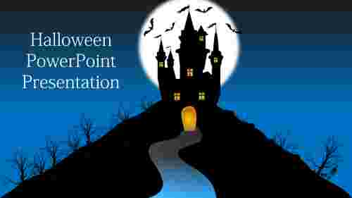 Halloween powerpoint template Models