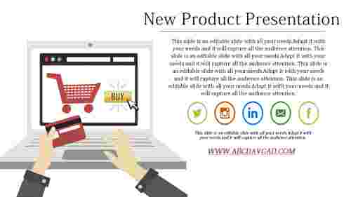 New Product Presentation Template for Marketing