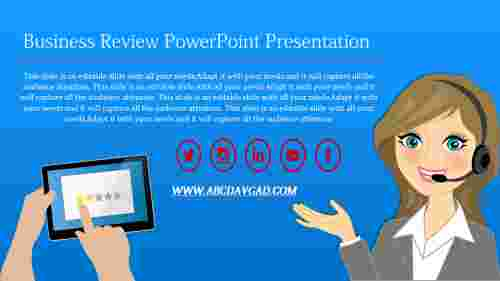 business review template powerpoint