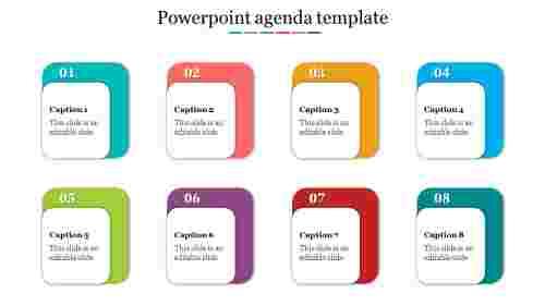Excellent powerpoint agenda template