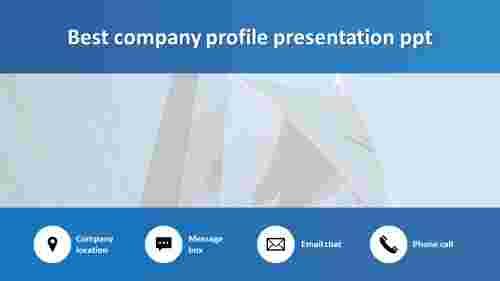 best company profile presentation PPT portfolio design