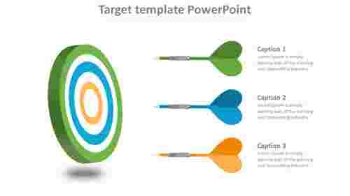 targettemplatepowerpointwitharrowmodel