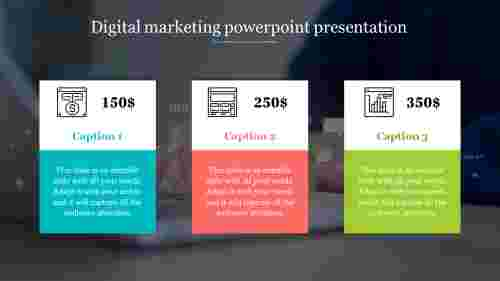 digital marketing powerpoint template