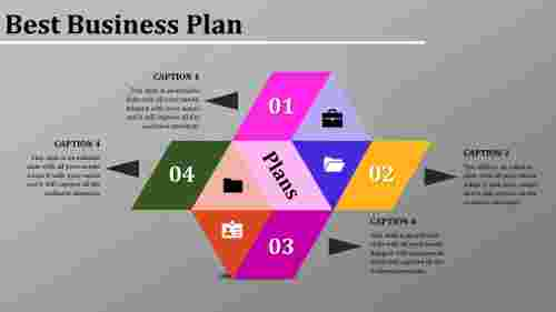Effective best business plan template powerpoint