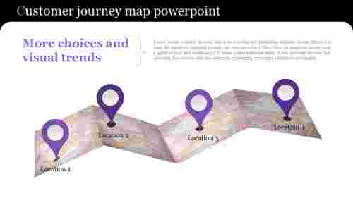 Customerjourneymappowerpointwithlocationdiagram