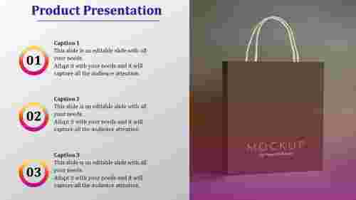 product presentation template-product presentation