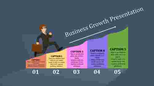 business growth presentation PPT