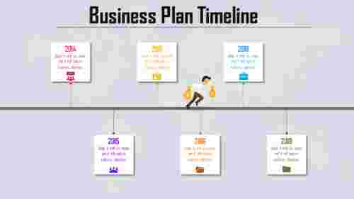 Business Plan Timeline Template presentation