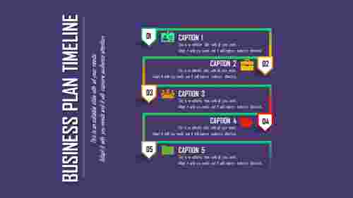 advanced business plan timeline template