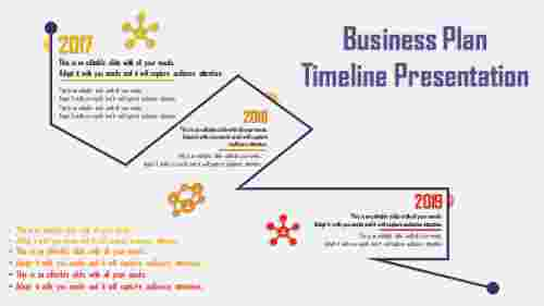 creative business plan timeline template
