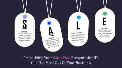 Introduction Sales Plan Presentation PPT