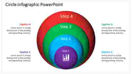 Concentric Circle Infographic Powerpoint