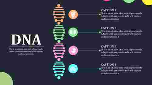 dna powerpoint template-DNA