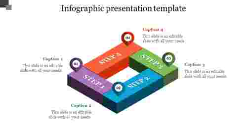 3D Infographic Presentation Template