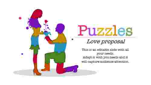 puzzle ppt template-Puzzles