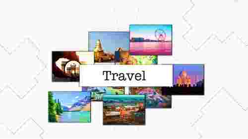 Memorable travel powerpoint template