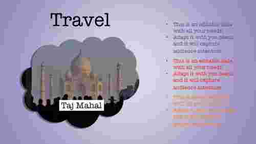 planned travel powerpoint template