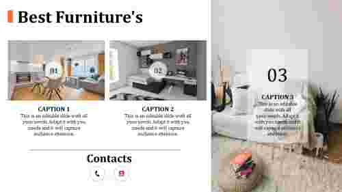 Best furniture powerpoint templates - new models