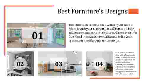 Best furniture powerpoint template four style
